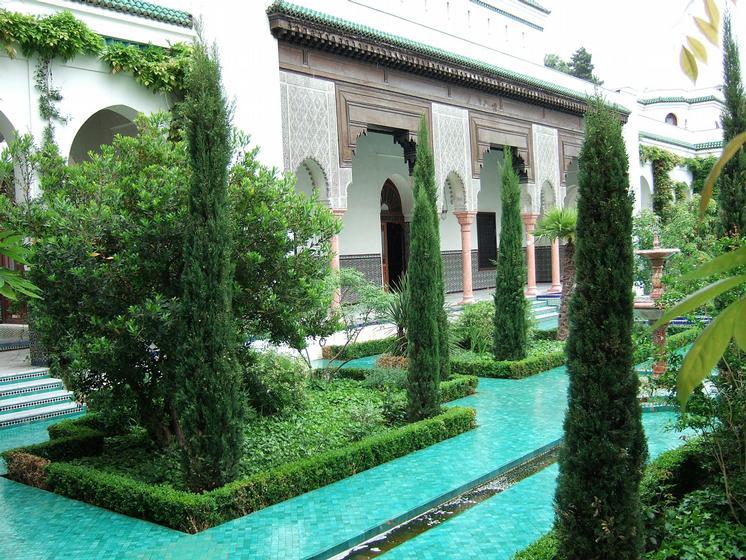 Visite la grande mosqu e paris 75005 guid e par for Jardin hispano mauresque