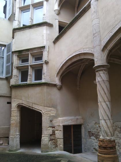 Renaissance courtyards