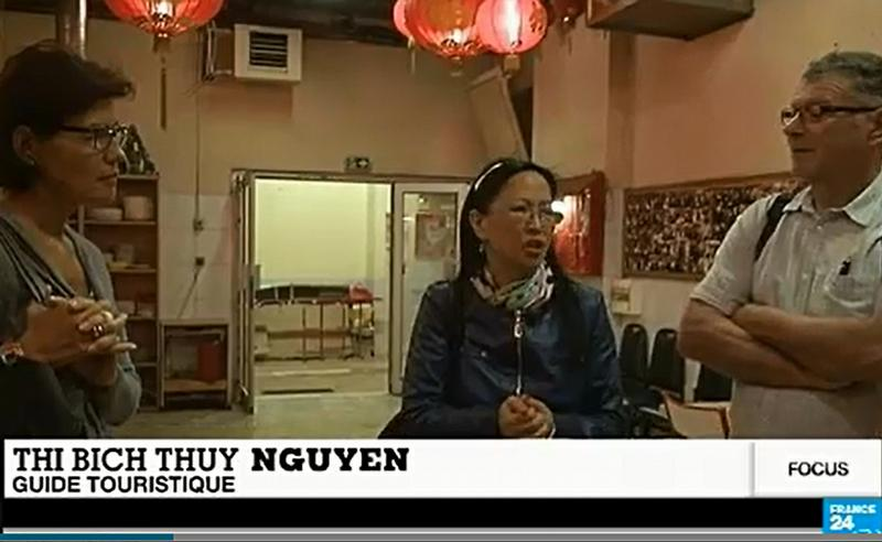 Mini reportage TV sur Chinatown, sur France 24