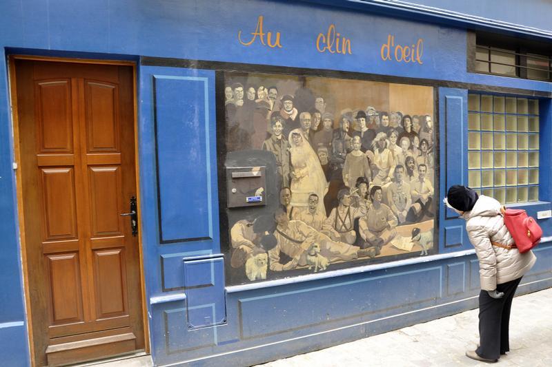 Cafe Tres Frequente A Paris En  Zola