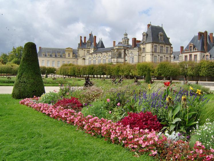 Visite cours et jardins de fontaineableau ch teau de for Jardin anglais fontainebleau