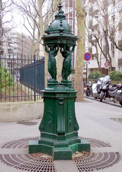 Visite balade autour des fontaines parisiennes 75007 for Visite autour de paris