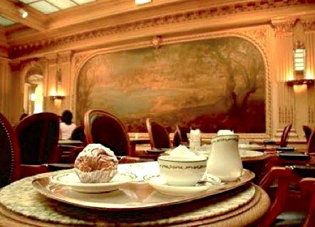 Visite histoire de chocolats conf rence historique - Angelina salon de the ...
