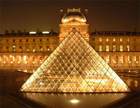 Louvre Museum : Pyramid