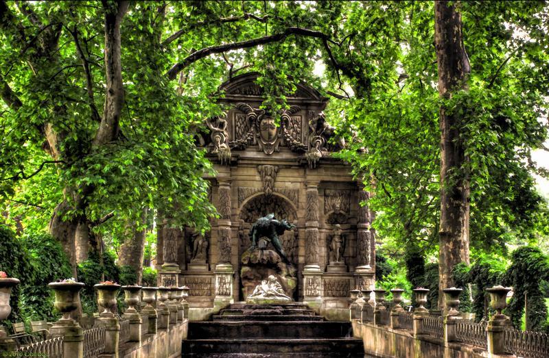 Visite visite du jardin du luxembourg cycle des reines for Buvette des marionnettes du jardin du luxembourg
